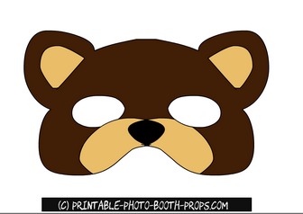 Free Printable Bear Photo Booth Prop