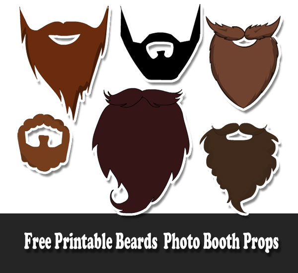 700 free printable photo booth props for Party utensilien