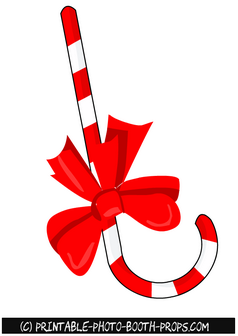 Free Printable Candy Cane Prop