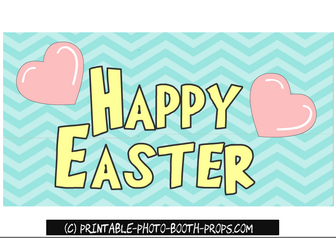 Free Printable Happy Easter Sign