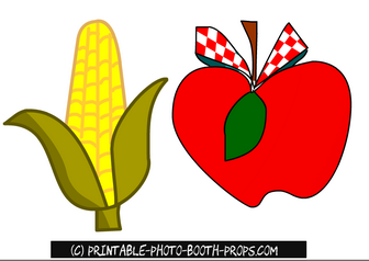 Apple and Corn Props