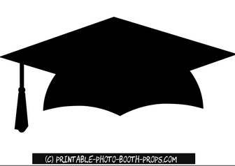 Free Printable Graduation Hat Photo Booth Prop