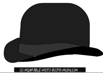 Panama Hat Prop Printable