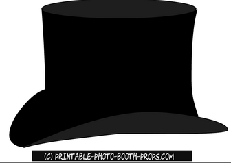 Top Hat Prop Printable