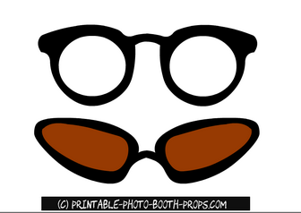 Free Printable Glasses Props