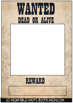 Wanted Dead or Alive Frame