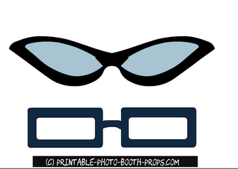 Free Printable Fun Glasses Photo Booth Props