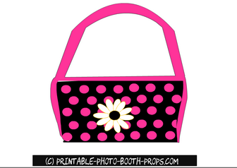 Free Printable Handbag Photo Booth Prop