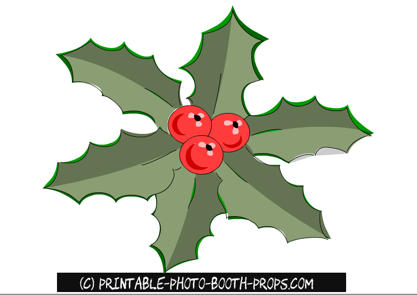 photo about Printable Mistletoe identify Absolutely free Printable Xmas Picture Booth Props