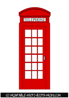 Free Printable Telephone Booth Prop