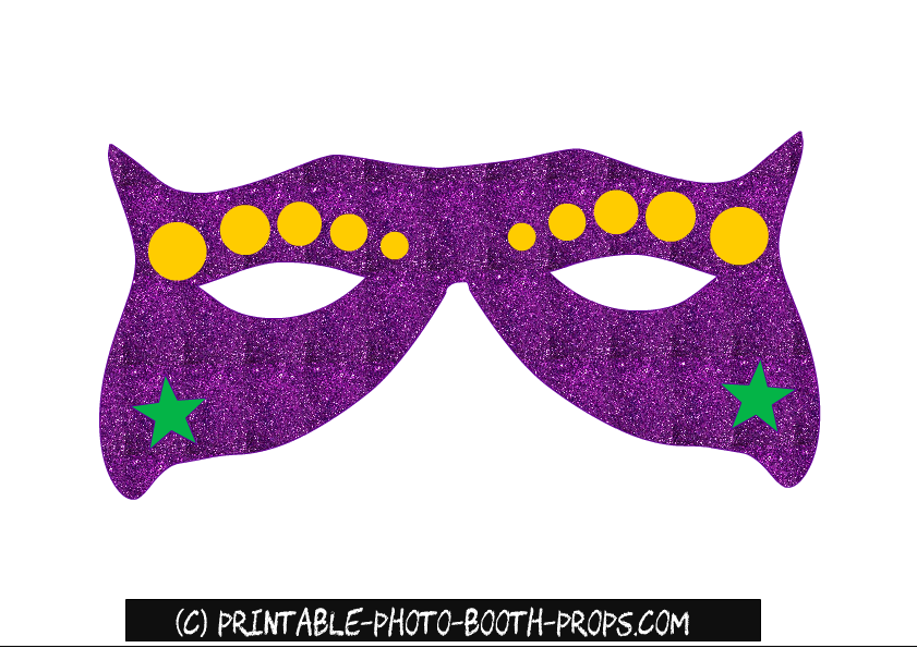 picture relating to Printable Mardi Gras Mask named Absolutely free Printable Mardi Gras Image Booth Props