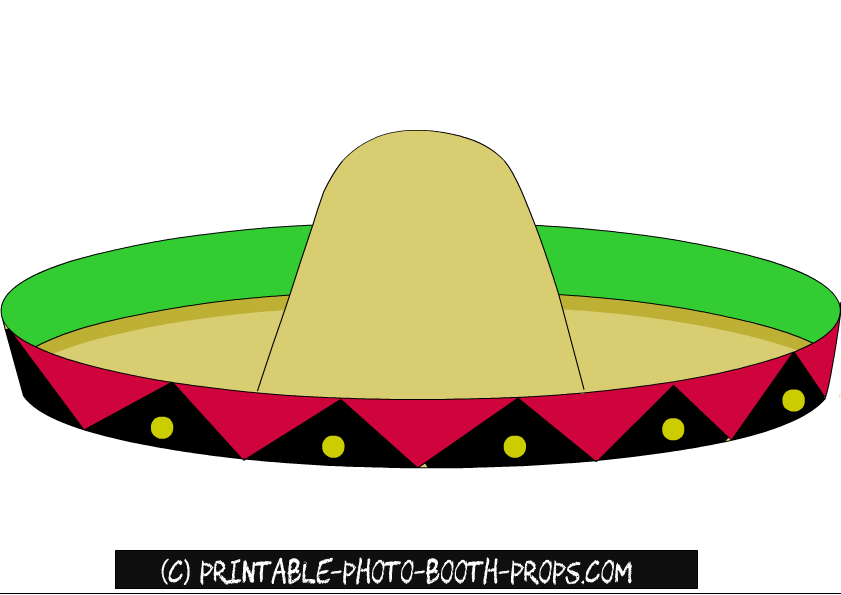 Free Printable Mexican Photo Booth Props