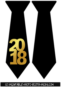 Neck Ties Props for Year 2018