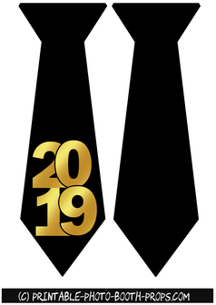 Neck Ties Props for Year 2019