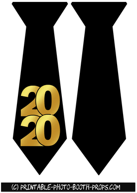 Neck Ties Props for Year 2020