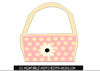 Free Printable Princess Handbag Photo Booth Prop