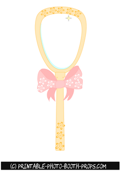Free Printable Princess Mirror Prop