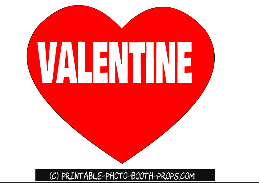 35 free printable valentine s day photo booth props