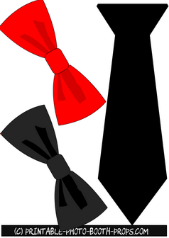Neck Tie and Bow Tie Props
